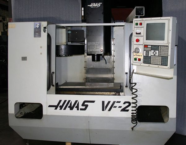 Haas VF-2 CNC VERTICAL MACHINING CENTER Model VF-2 3 Axis