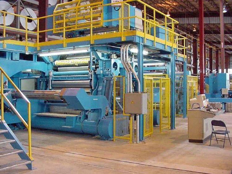 "Kampf 70"" Aluminum Slitting Line"