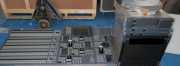 Sony 4ME 120input mvs8000x 4K / 3G / HD vision mixer switcher