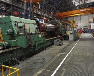Kramatorsk Heavy duty lathe 80 rpm KRAMATORSK 1682A