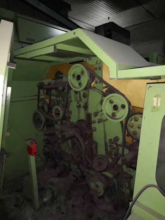 Thibeau CA6 Carding machine 3M2M5