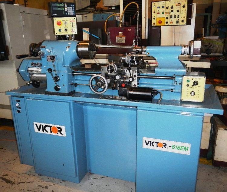 Victor Engine Lathe Max. 3000 rpm 618EM