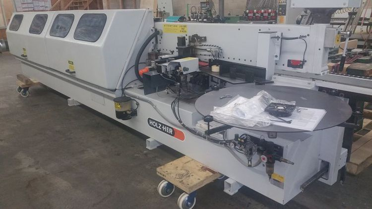 Holzher 420V, Edge Thickness Bander