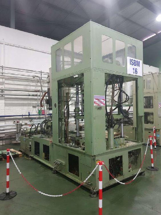 Aoki SBIII 250LL-50 INJECTION STRETCH BLOW MOULDING MACHINE