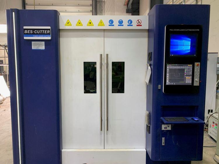 Bescutter Titan-8000 IPG Fiber Laser HypCut P8000 CNC Controls