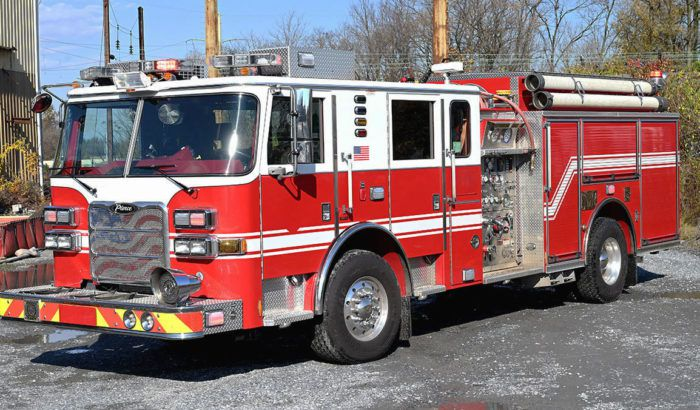 Pierce Rescue Pumper