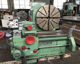 WMW Facing lathe 355 rpm DP 1000-1250
