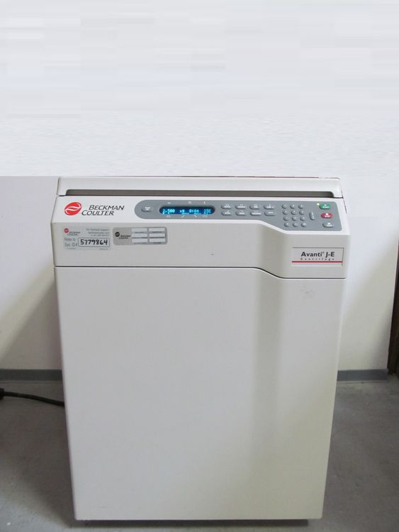 Beckman Coulter Avanti J-E, Refrigerated Floor Centrifuge