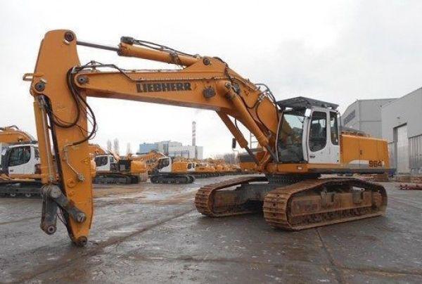 Liebherr R 964C HDSL Tracked excavator