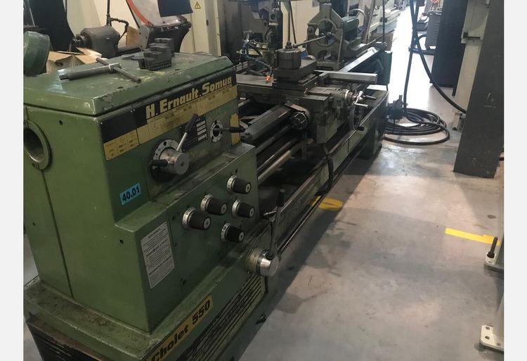 Ernault Somua Engine Lathe 1600 rpm CHOLET 550