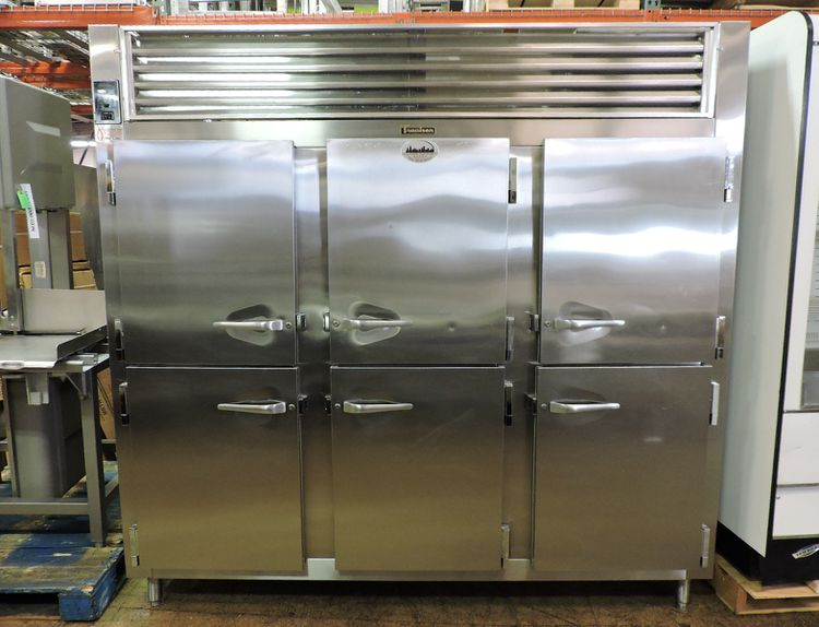 Traulsen RHT332WUT-HHS  3-Section 1/2 Door Reach-In Refrigerator