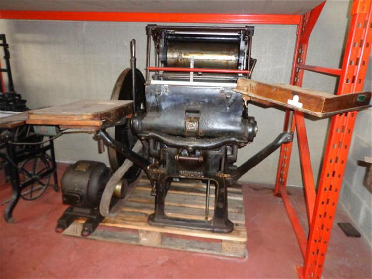 Other Clam shell type platen printing press  34x45 cm