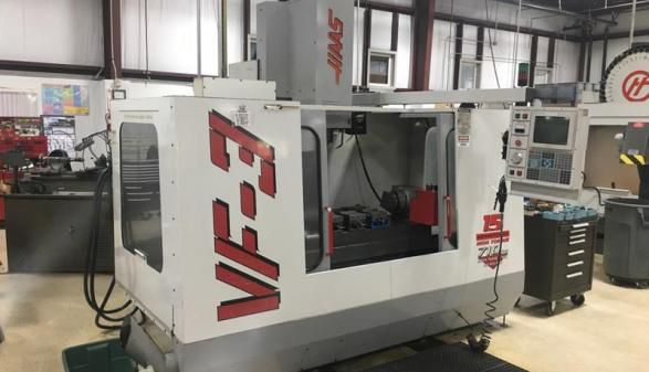 Haas VF-3 with Rotary Table 4 Axis
