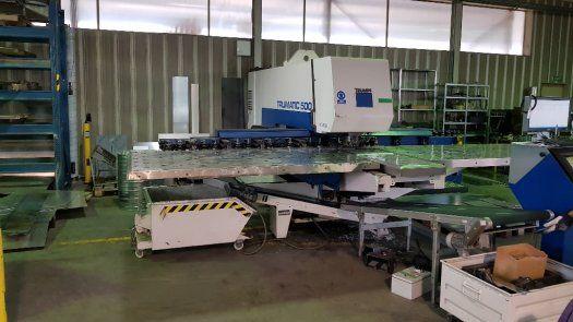Trumpf CNC Punching Press TRUMATIC 500