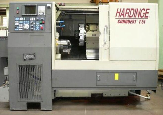 Hardinge FANUC 18 T 3500 rpm CONQUEST T51 2 Axis