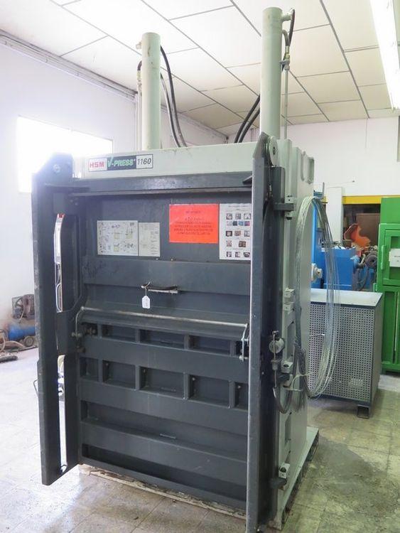 HSM V-press 1160 Plus Hydraulic press