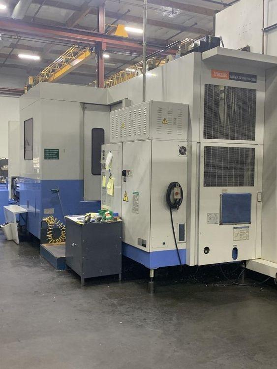 Mazak FH-1080 Horizontal Machining Center - 3 Machine Cell 4 Axis