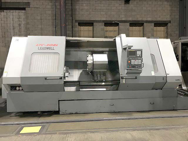 Leadwell Fanuc 0i-TC CNC Control 1500 rpm LTC-50BL 2 Axis