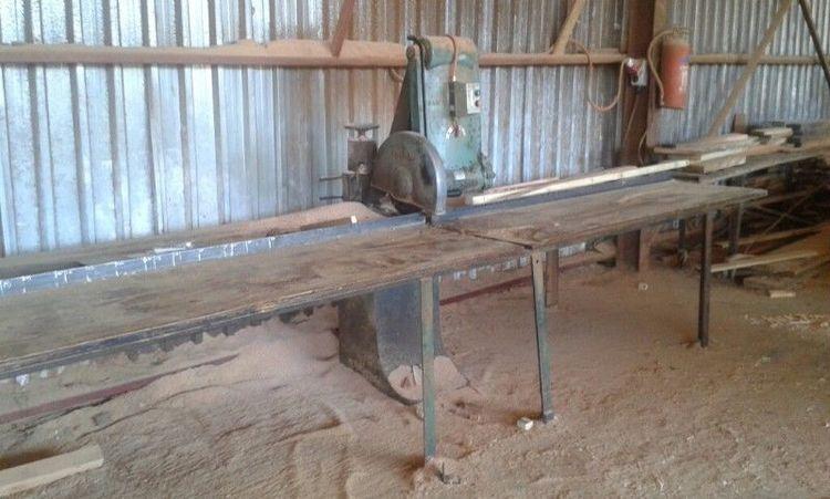 Pfeiffer Piccolo, Heavy duty Parallel Pendulum Cross Cut Saw or Swing Saw