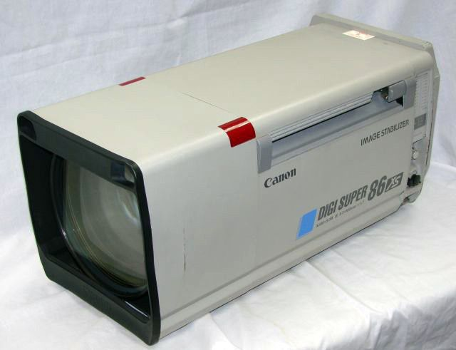 Canon XJ86x9.3 HD Boxlens