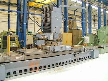 Mecof CR 15 NC CNC Bed Milling Machine Max. 1450 rpm