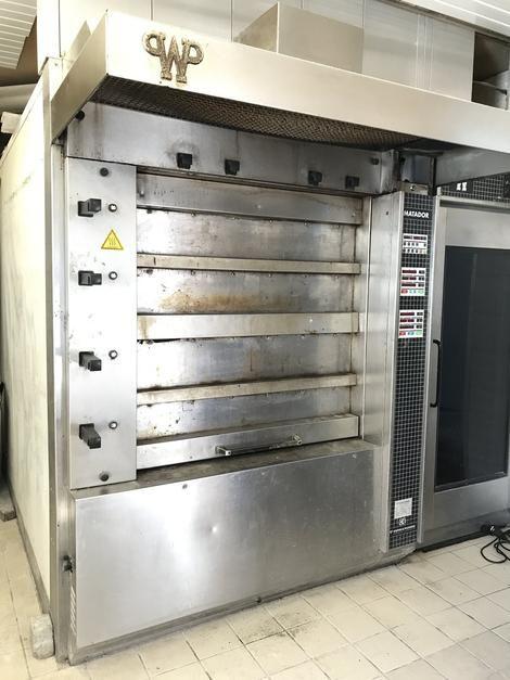 Werner & Pfleiderer MD 80 C 42 Deckoven Oil- / Diesel heated