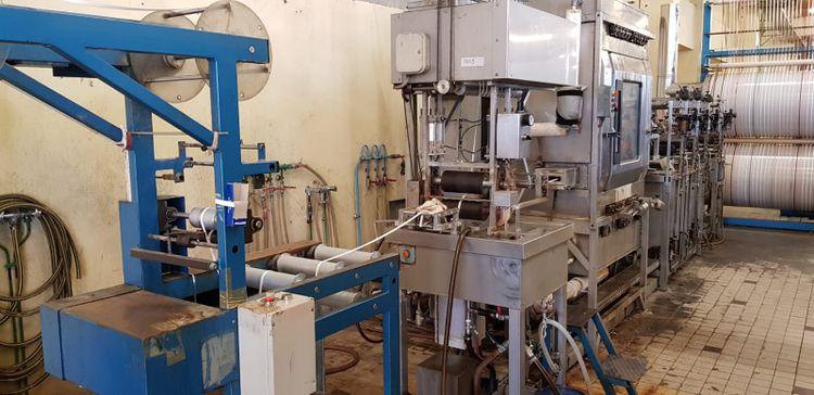 Sodemetex vapo lab, continuous dyeing line
