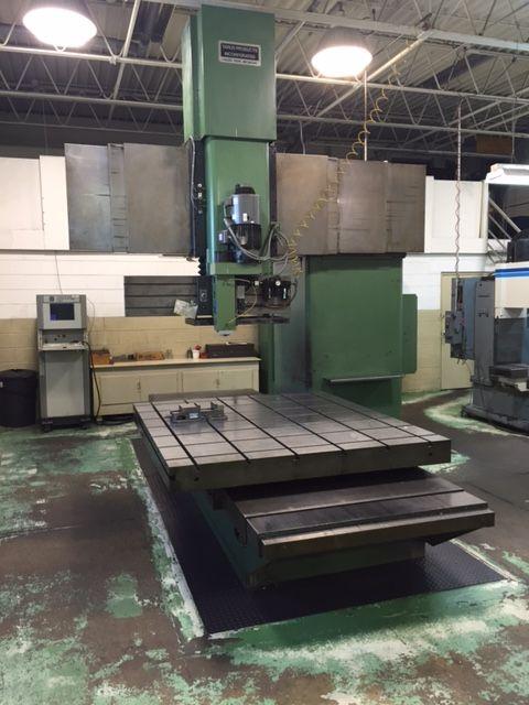 Tarus DU 6084-TP VERTICAL CNC MILLING MACHINE  5000 rpm