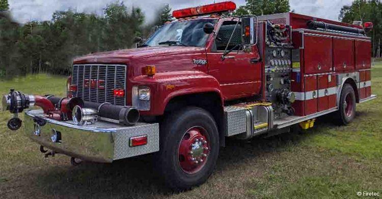 E-One, GMC Fire Truck