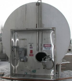 DCI 10,000 Gallon Jacketed Horizontal Tank Jacketed Horizontal Tank 10,000 Gallon
