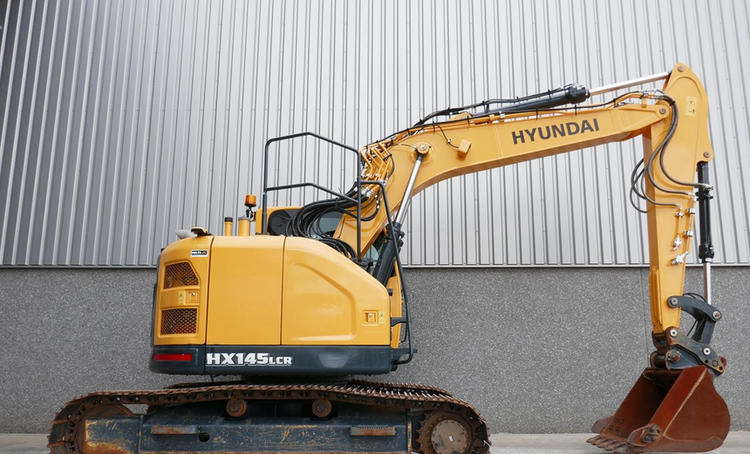 Hyundai HX145ALCR Tracked Excavator