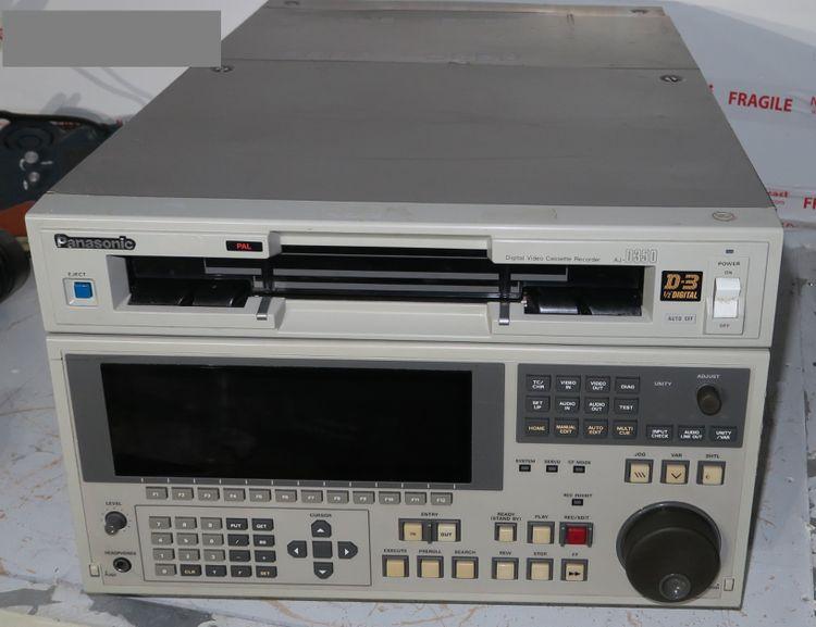 Panasonic aj-d350e pal d3 recorder / player