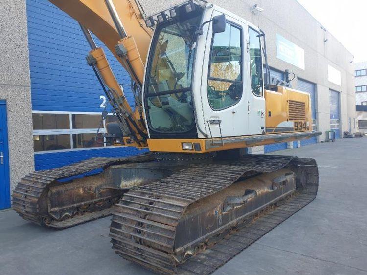 Liebherr R934C HDSL Tracked excavators