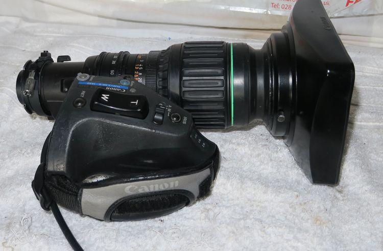 Canon hj9x5.5b-II IASD high definition wide lens