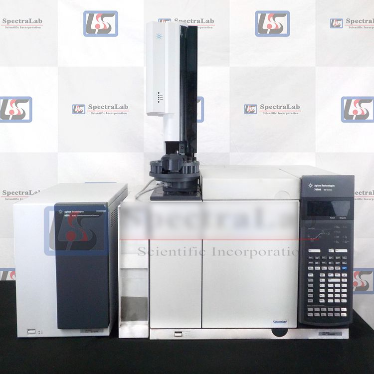 Agilent 7890B 8355 SCD gas chromatograph