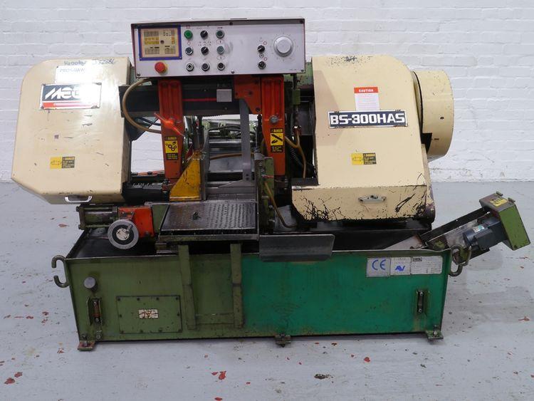 Mega BS300HAS Horizontal Bandsaw Automatic