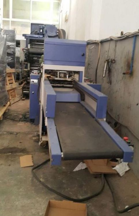 2013 plastic bag bottom sealer with robot , urgent