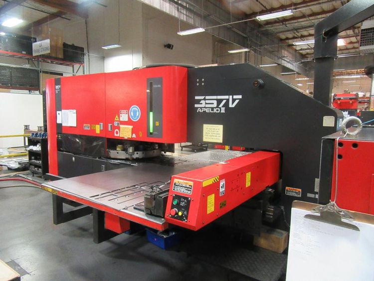 Amada APELIO III 357V Punch Laser Machine 33 Tons