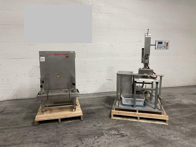 Bausch & Stroebel SP-100 Powder Filling Machine