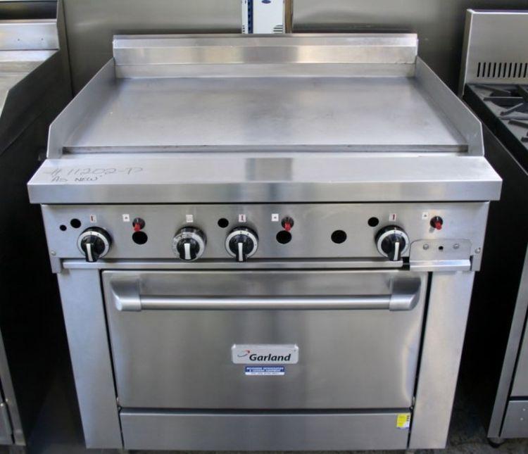 Garland Flat Grill Oven Range