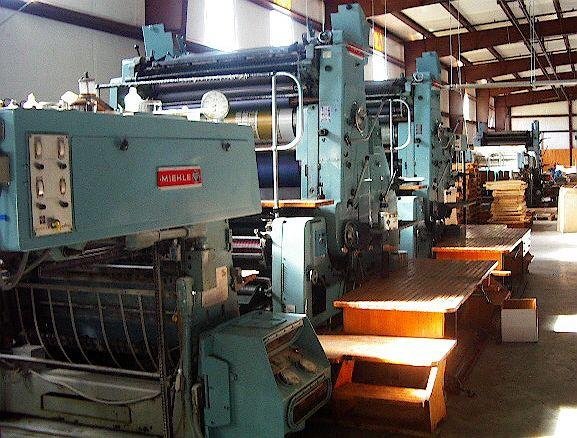 Roland (Miehle) RVU5, 4 colors Offset machine 89 X 126 Cm