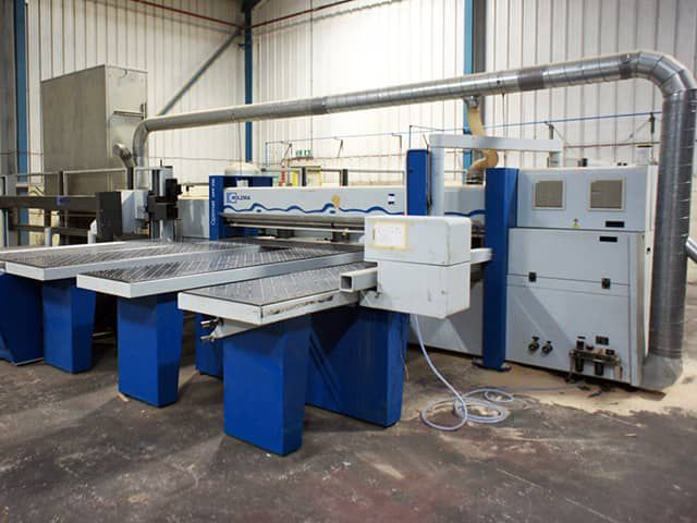 Holzma HPP 350/31/31, Panel Saw with Front Loading