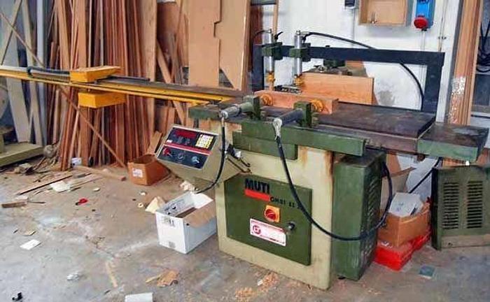 MUTI Masterwood OMB1 ES 2B CHIPPING MACHINE