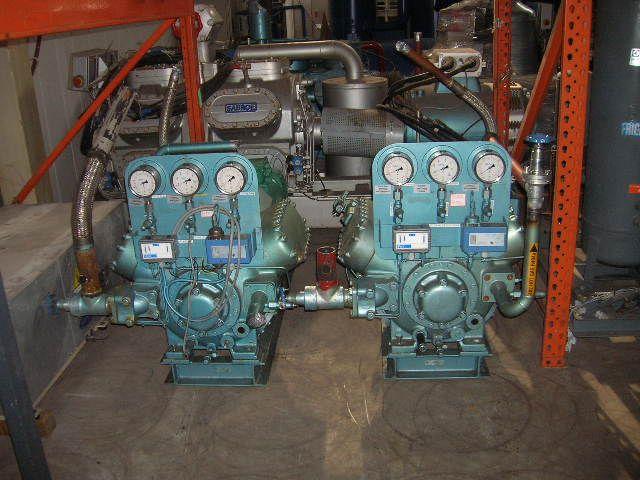 2 Grasso RC 66 Freeze Compressor Package