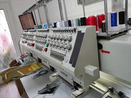 Brother Multihead embroidery 4 12