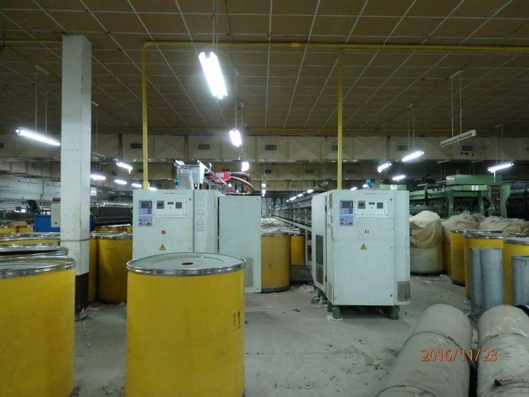2 Saurer BD 330 : 286  Roter of machine  : 170 mm bobbin cheese