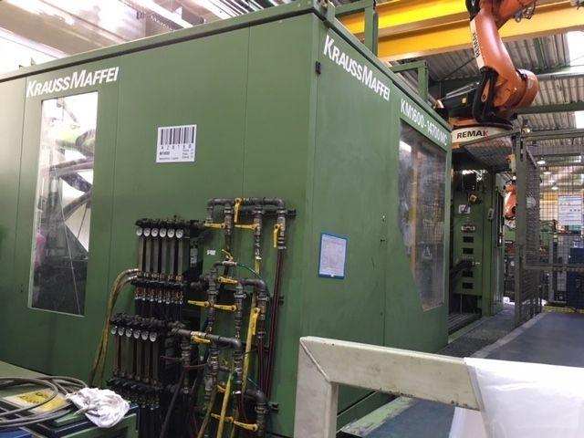 Krauss Maffei KM 1600 - 14700 MC 1600 T