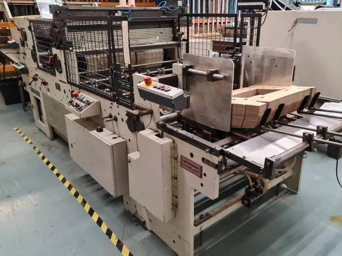 Kohmann F 1050, Window Patching machine