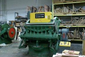 Thomson Heavy Duty die cutting press