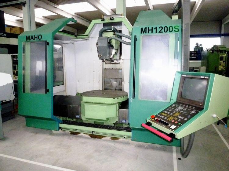 Maho MH 1200 S Max. 6300 rpm